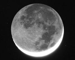 Как вращается Луна