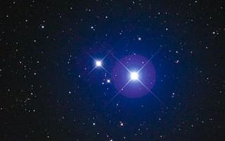 Мицар и Алькор — двойная звезда