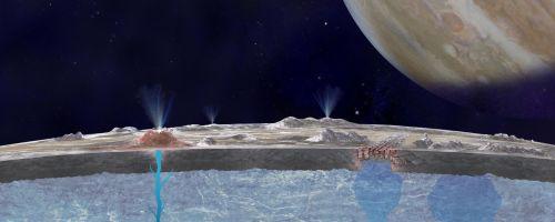 Сведения о спутнике Юпитера Европе