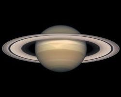 Цвет поверхности Сатурна