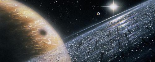 Из чего состоят кольца Юпитера