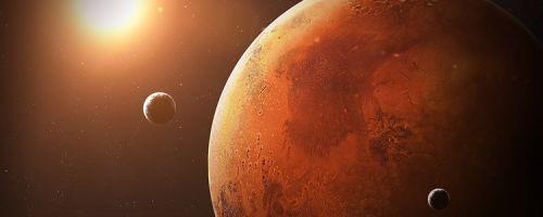 Какая у Марса атмосфера?