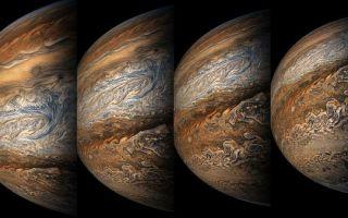 Информация о планете Юпитер
