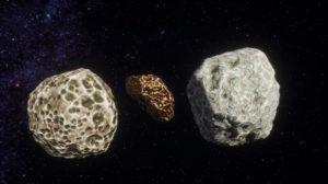 2 астероида