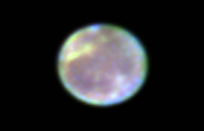 Спутник Юпитера - Ганимед