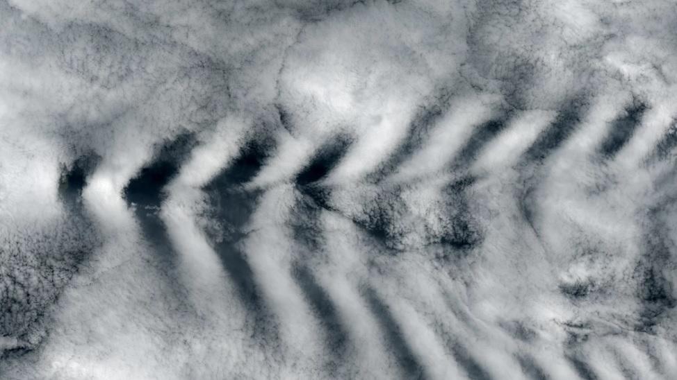 Изображение феномена в атмосфере Венеры