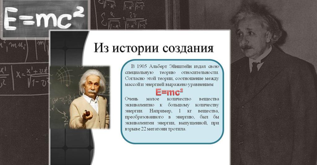 Про историю создания Теории относительности А.Эйнштейна