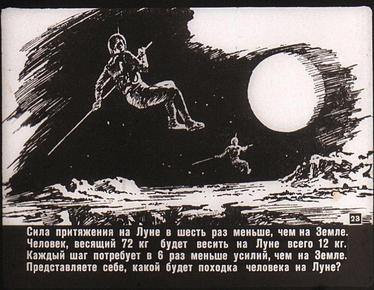 Гравитация на Луне