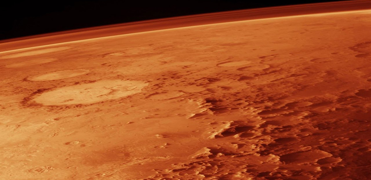 Атмосфера на Марсе