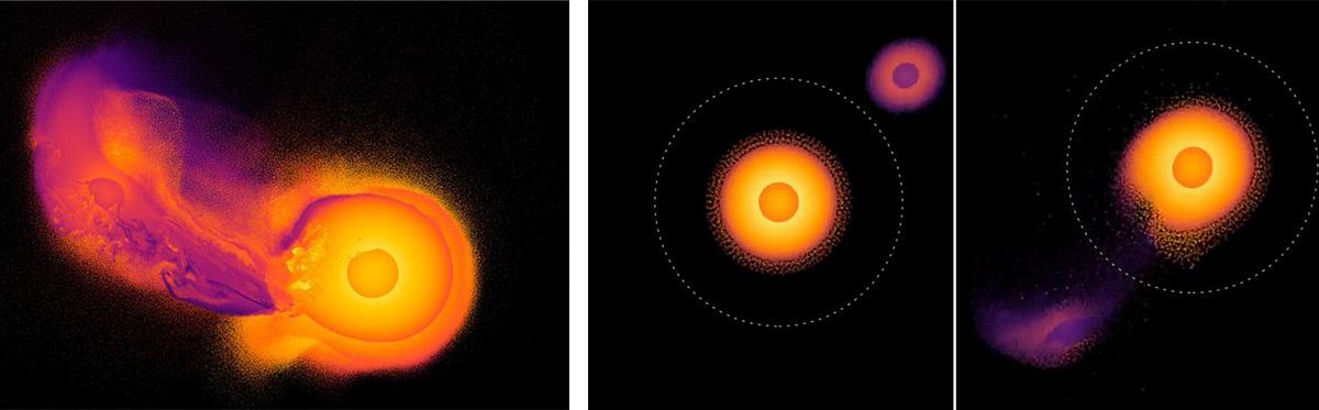 Столкновения Урана с небесным телом