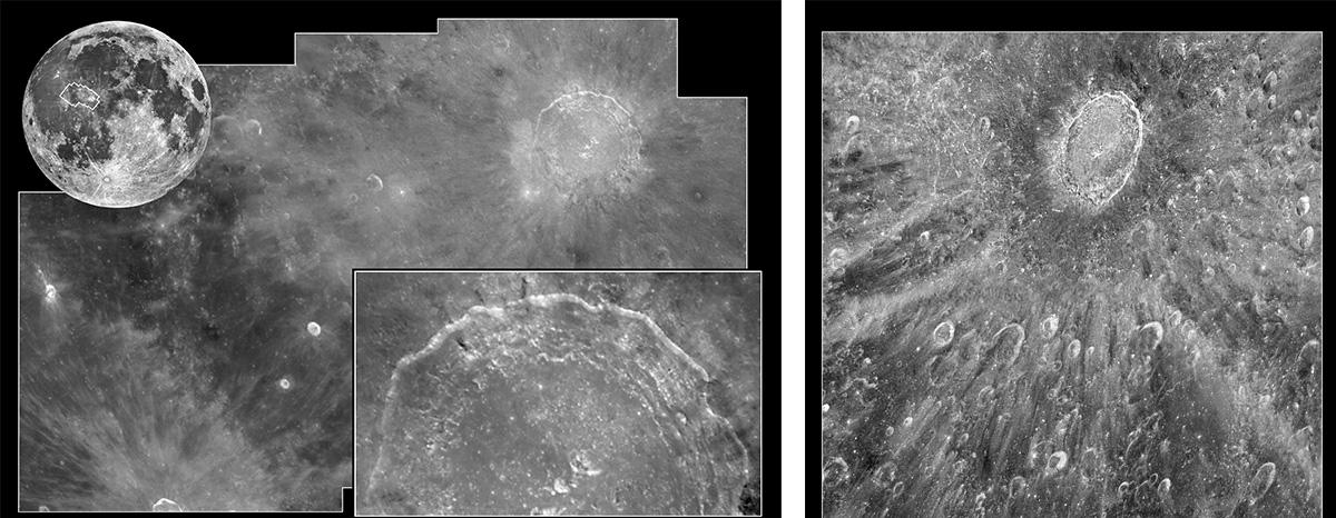 Съёмки поверхности Луны