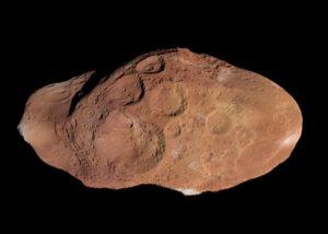 Спутник Юпитера Амальтея