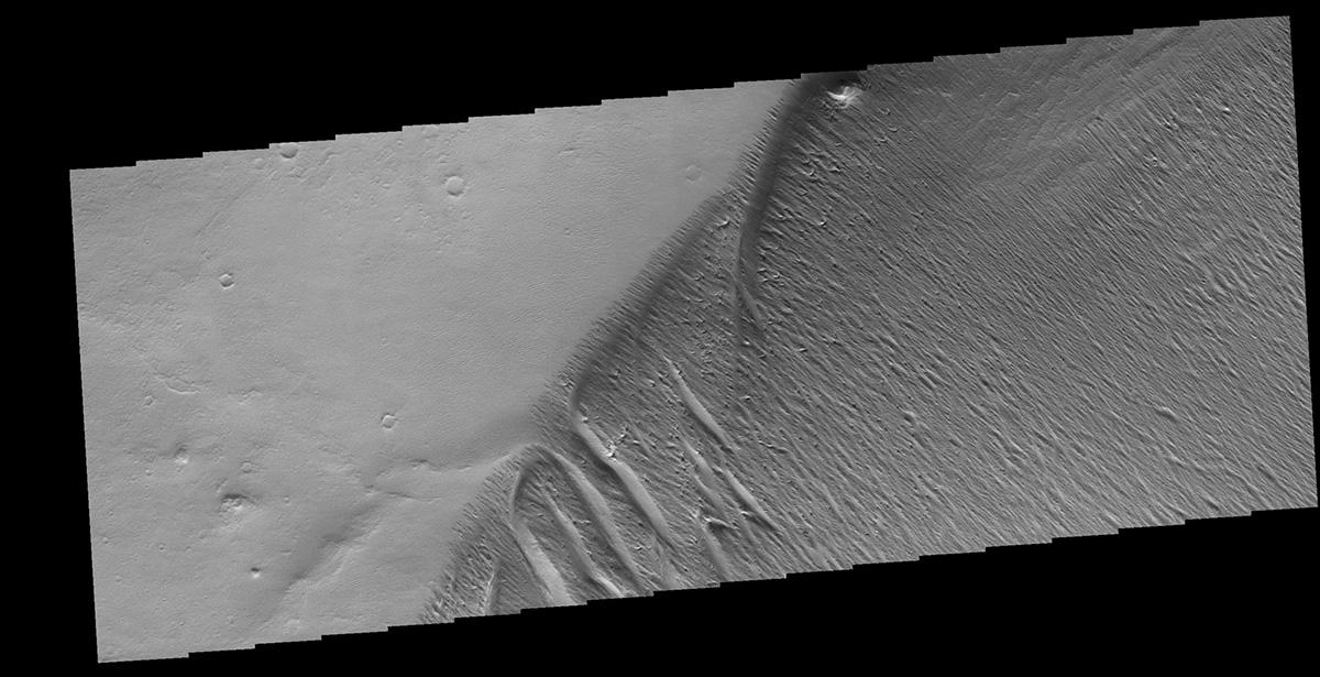 Эрозия почвы на Марсе
