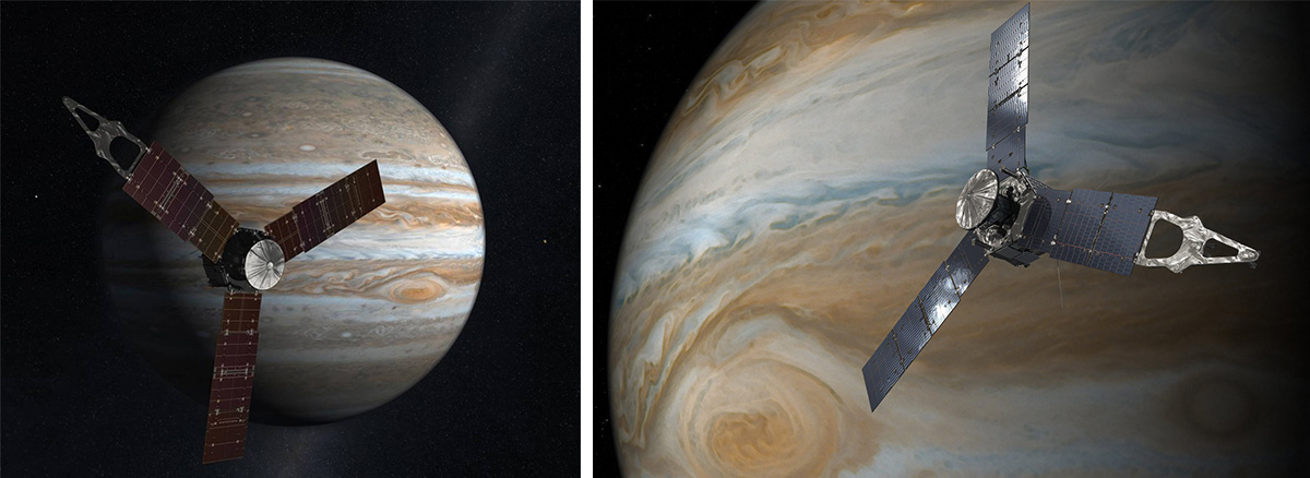 Космические корабли миссии Юнона