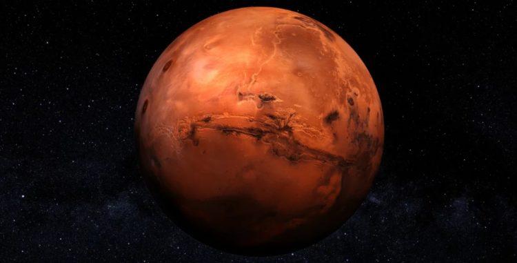 Гравитация на планете Марс