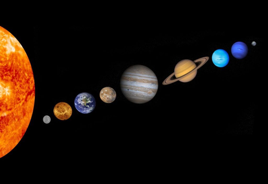 Цвета планет