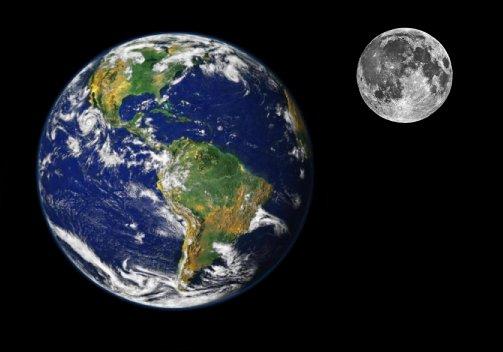 земля и луна двойная планета