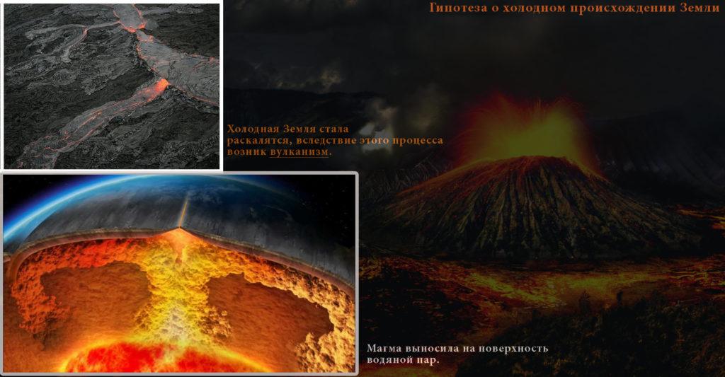Гипотеза о холодном происхождении Земли с нагреванием