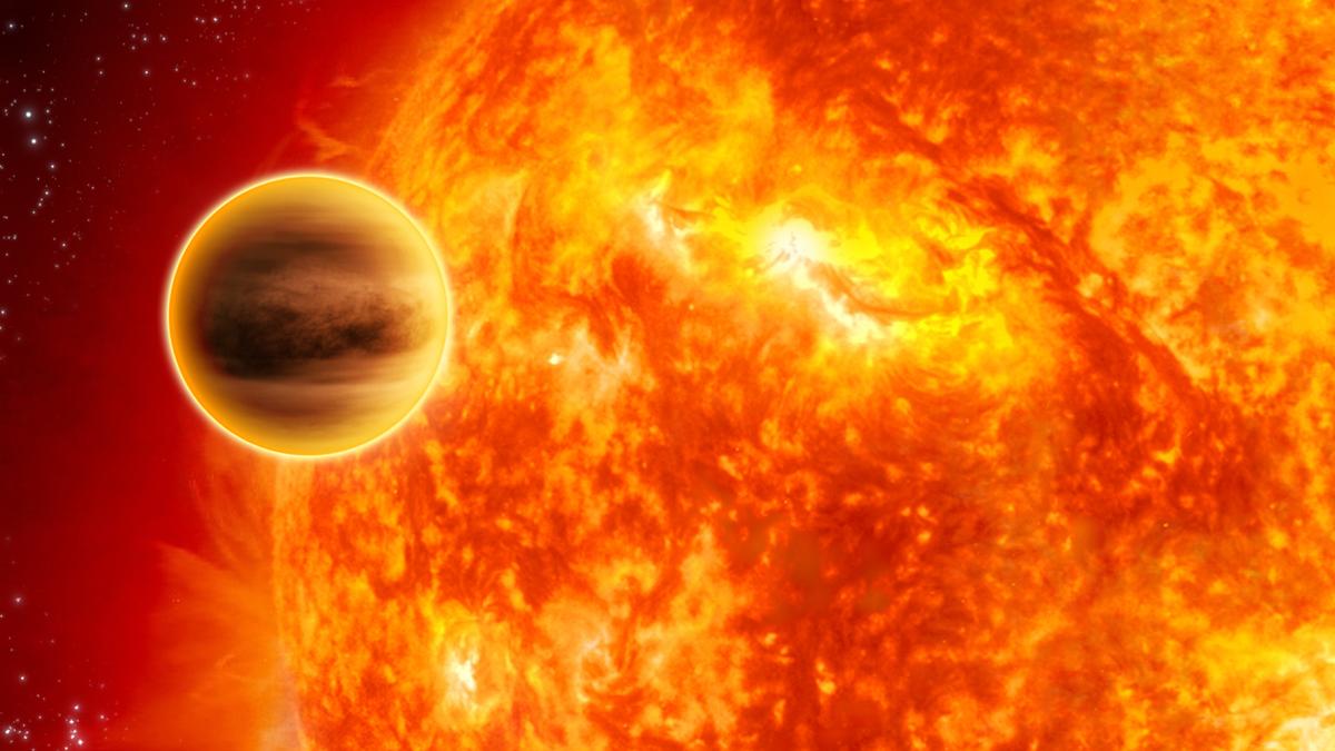 Расстояние от Меркурия до Солнца