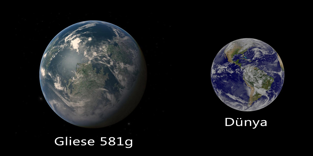 Gliese 581 g - планета, входящая в пятерку экзопланет
