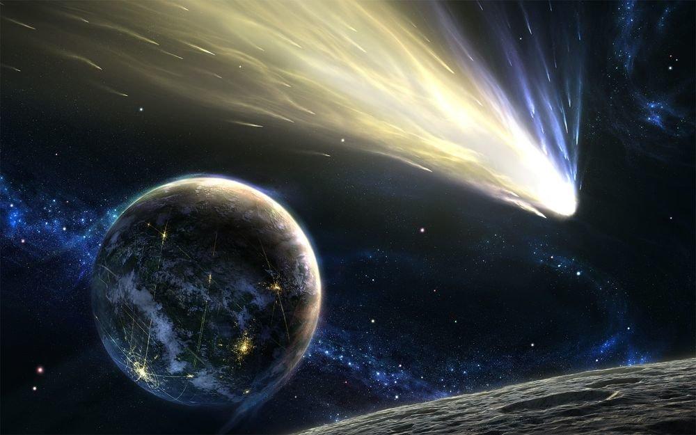 Полет Земли через Вселенную