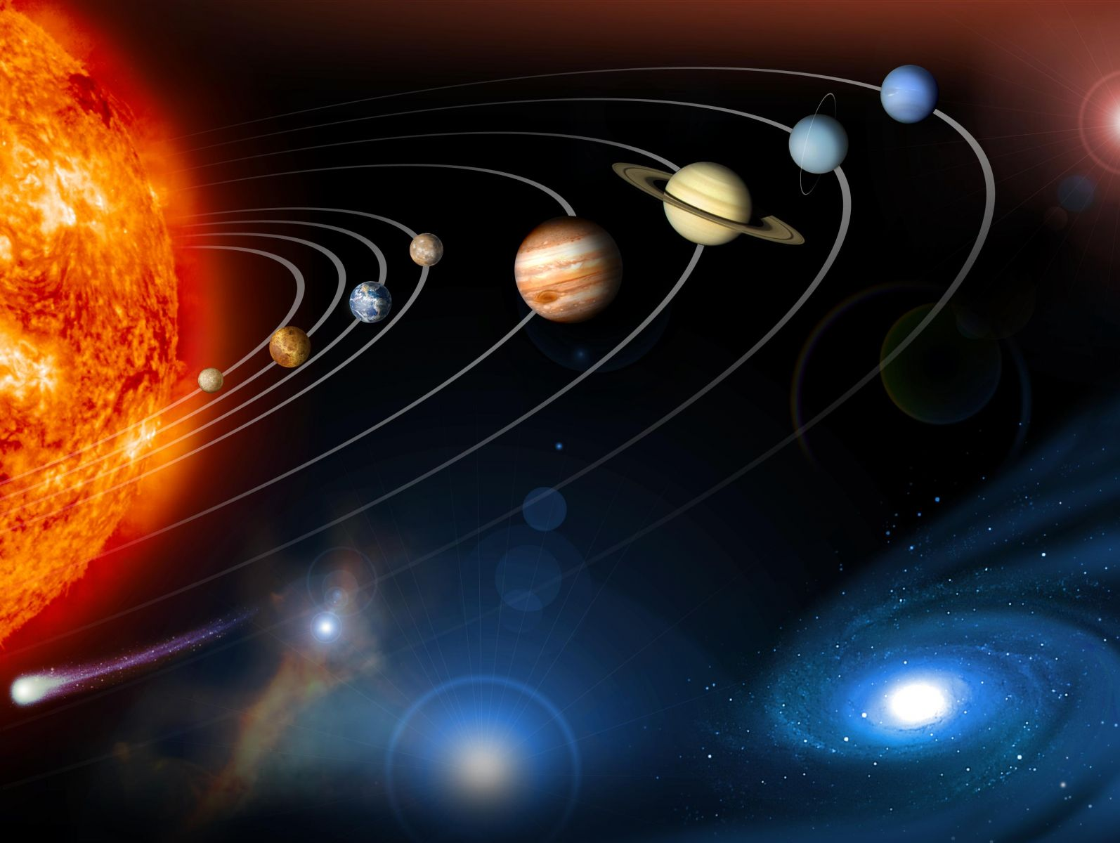 Расположение Сатурна