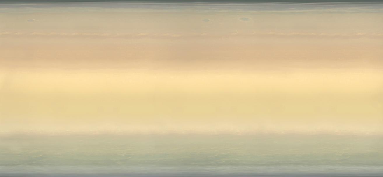 Поверхность Сатурна