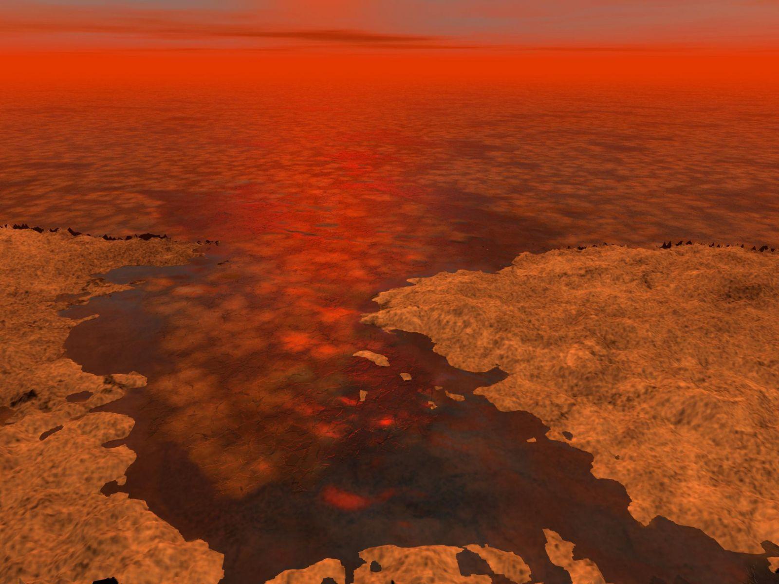 Метановые озера