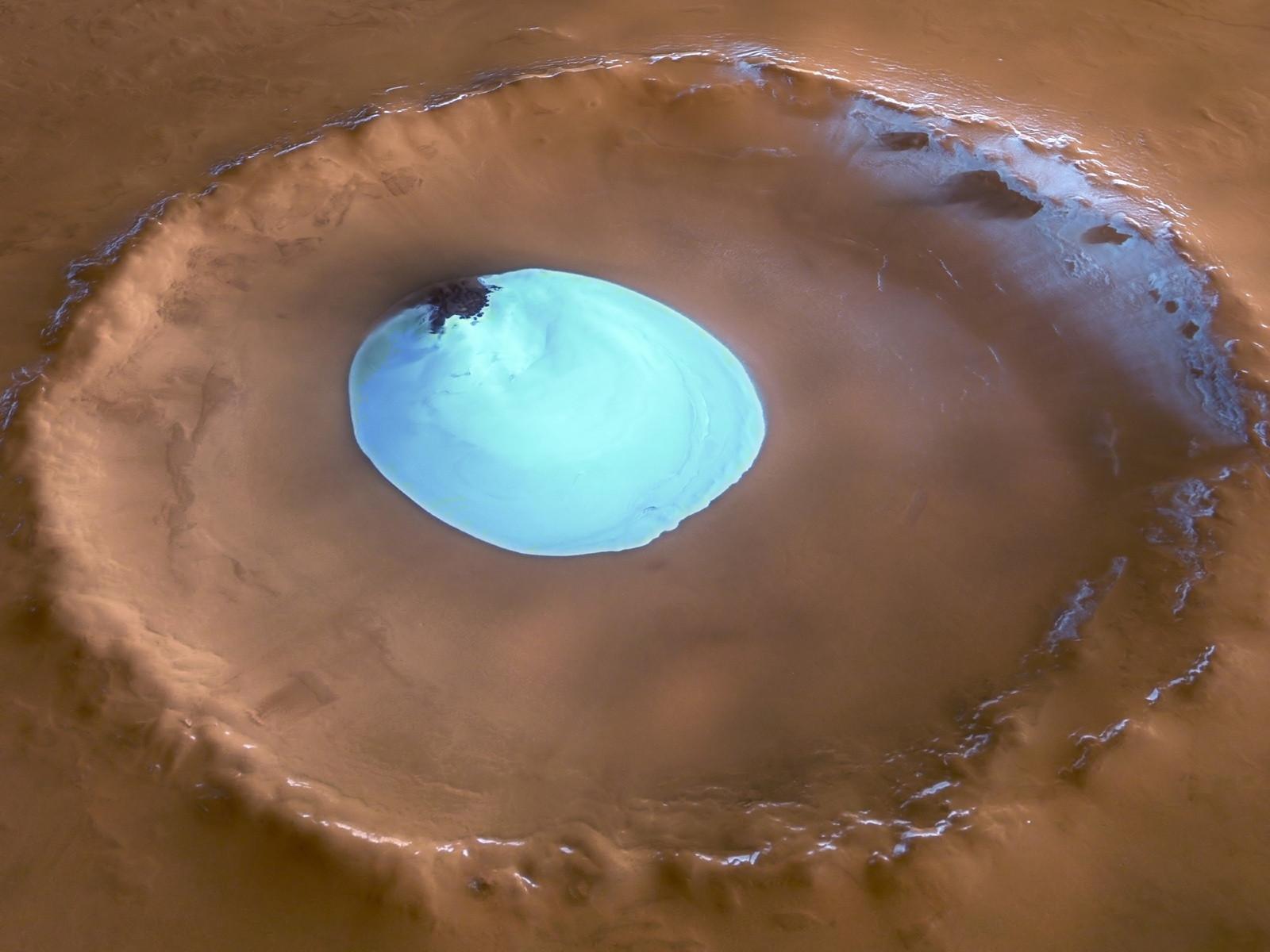 Вода на Красной планете