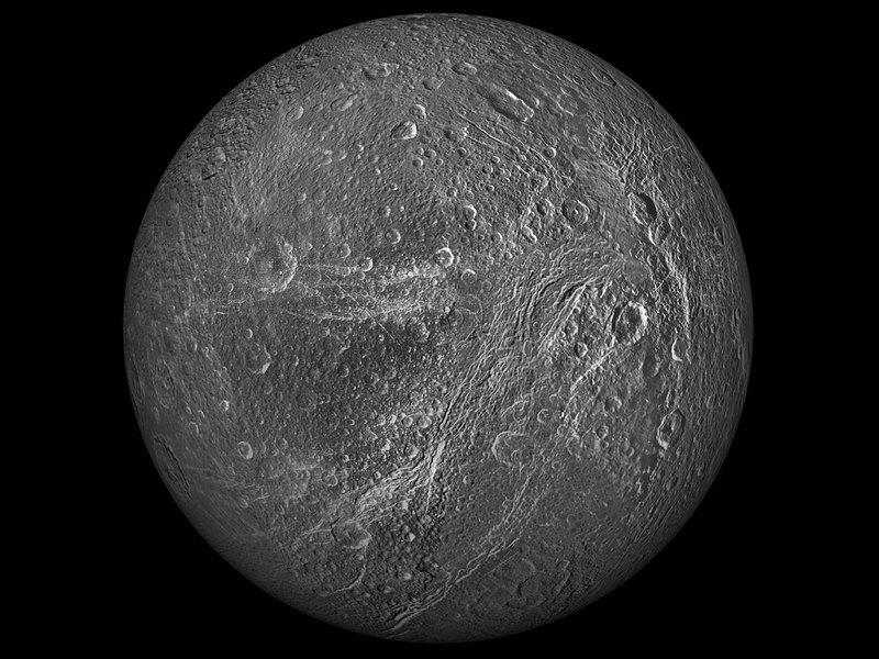 Фото спутника Урана из космоса