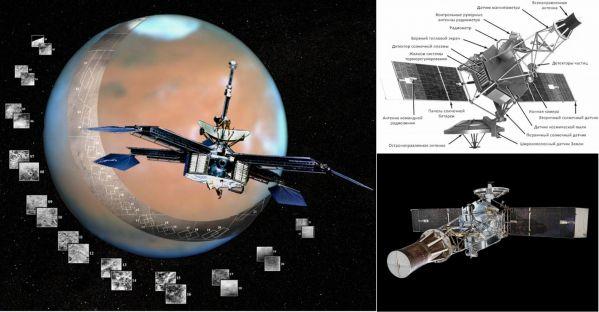 Знаменитый аппарат Маринер-2, первым передавший сведения и фото о Венере на Землю