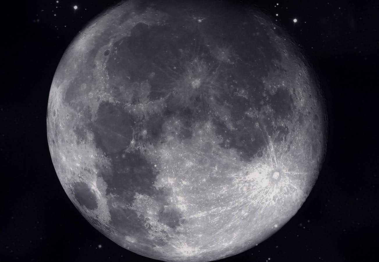 Физические характеристики Луны