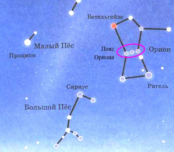 Созвездие Псов