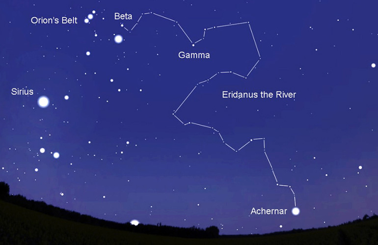 Созвездие Эридана